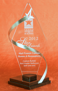 Matt Powers Custom Homes & Renovations Tops Off a Great 2012 – Takes Wins in 4 More Industry Competitions