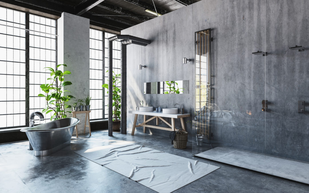 A Nod to Industrial Style Design