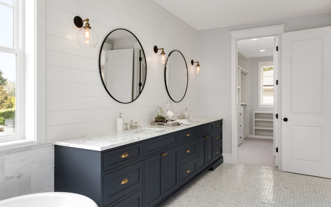 Achieving a Farmhouse-Inspired Master Bath